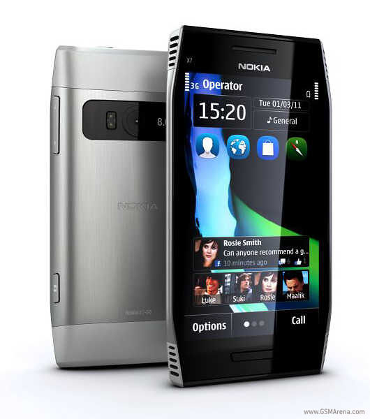 Nokia E6 and X7 Pictures and Specs