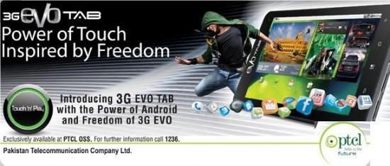 3G Evo Tab