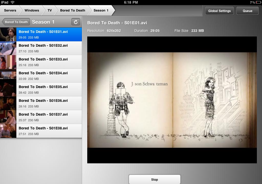 Air Video App 2011