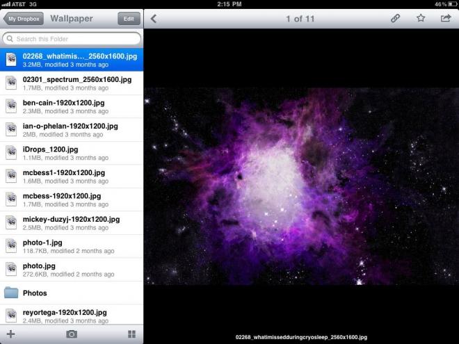Dropbox App 2011