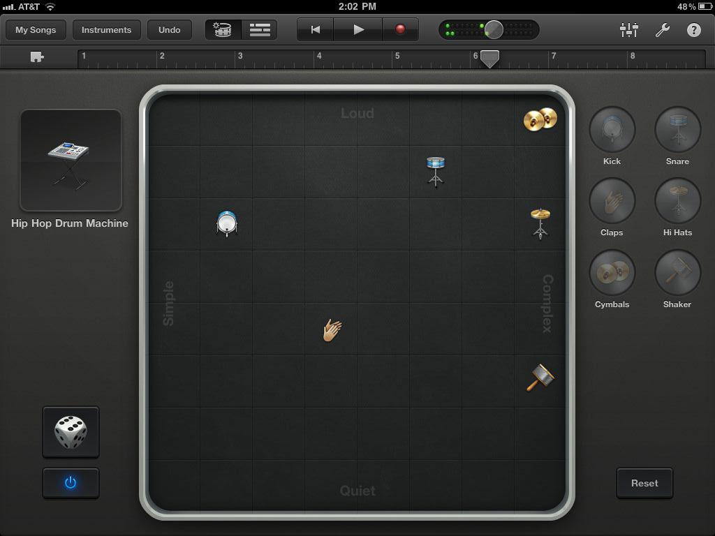 GarageBand iPad 2 App 2011
