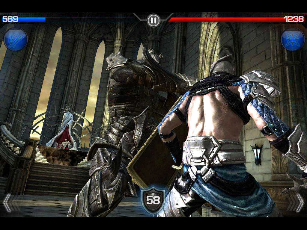 Infinity Blade ipad 2 app 2011
