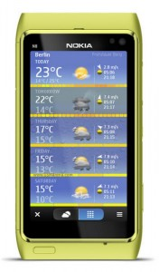 Nokia Maps 3.08 With Weather Plug-in 2011