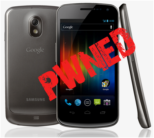 Samsung Galaxy Nexus Hacked