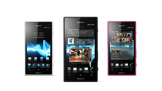 "Sony Announces Water Resistant Smartphone by the name of ""Sony Xperia Acro S"""