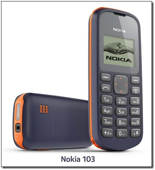 "Nokia Announces its Most Affordable Handset ""Nokia 103″, For Just Rs 1500"