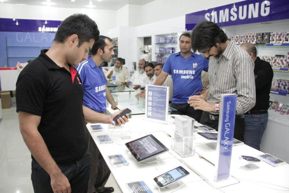 samsung in pakistan